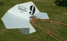 Quo Vadis electric vintage model airplane uncovered