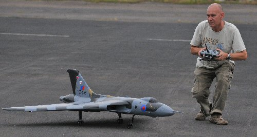 Graham Dorschell with EDF Vulcan