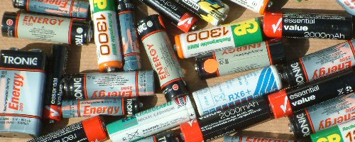 AA hydride batteries
