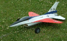 RC electric Percival Q6