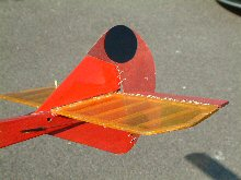 Lulu RC glider tail
