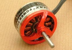 small brushless electric motor for RC aircraft