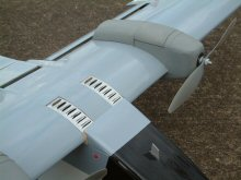 ESC air inlet on electric model aircraft