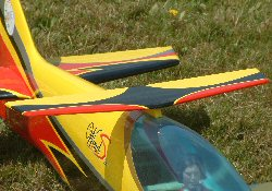 brushless outrunner for electric model aircraft