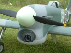 electric model aircraft propeller